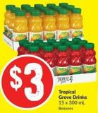 Tropical Grove Drinks 15 X 300 mL