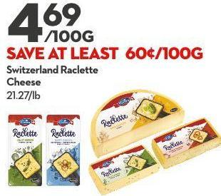 Switzerland Raclette Cheese