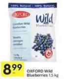 Oxford Wild Blueberries