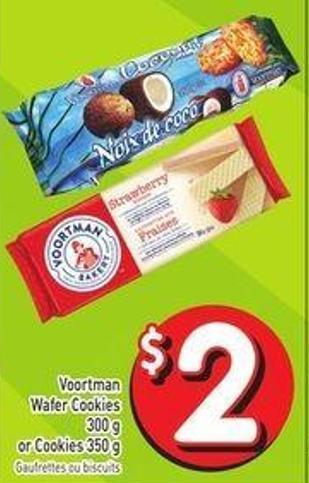 Voortman Wafer Cookies 300 g or Cookies 350 g