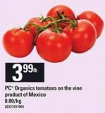 PC Organics Tomatoes On The Vine
