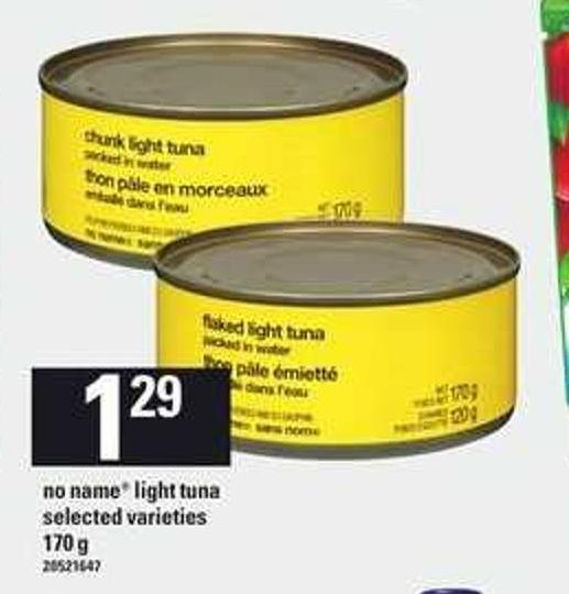 No Name Light Tuna - 170 G