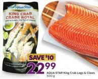 Aqua Star King Crab