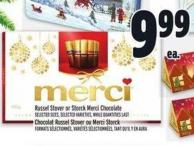 Russel Stover Or Storck Merci Chocolate