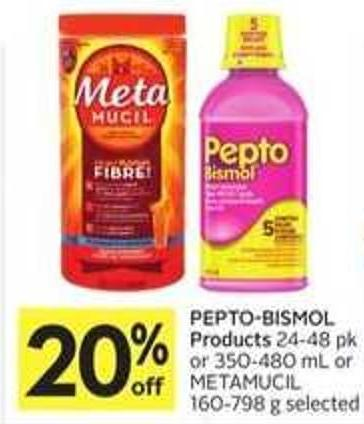 Pepto-bismol Products