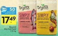 Beyond Dry Cat Food 1.36 Kg - 50 Air Miles Bonus Miles