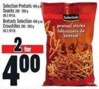 Selection Pretzels 400 G Or Snacks 280 - 300 G