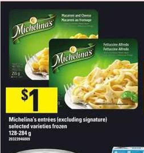 Michelina's Entrees - 128-284 G