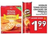 Keebler Town House Crackers Or Pringles