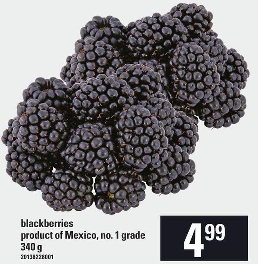 Blackberries - 340 G