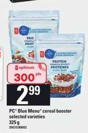 PC Blue Menu Cereal Booster - 325 g