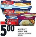 Minute Rice Instant Rice 2 X 125 g