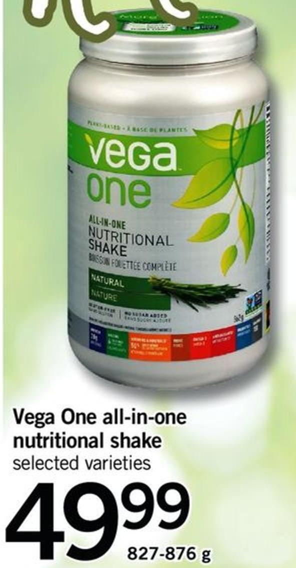 Vega One All-in-one Nutritional Shake - 827-876 G
