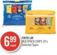 Frito Lay Multipack Chips 20's
