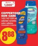 Coppertone Sun Care - 142/147-259 mL