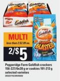 Pepperidge Farm Goldfish Crackers - 156-227/6x28 G Or Cookies - 191-213 G