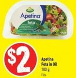 Apetina Feta In Oil 100 g