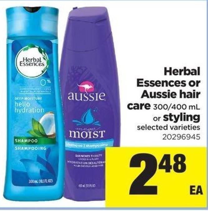 Herbal Essences Or Aussie Hair Care - 300/400 Ml Or Styling