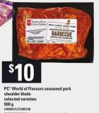 PC World Of Flavours Seasoned Pork Shoulder Blade - 900 g
