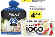 Iögo Yogurt 16 Pk or Natrel Lactose Free Milk 2 L or Fine Filtered Milk 4 L