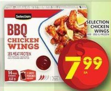 Selection Chicken Wings