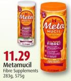 Metamucil Fibre Supplements 283g - 575g