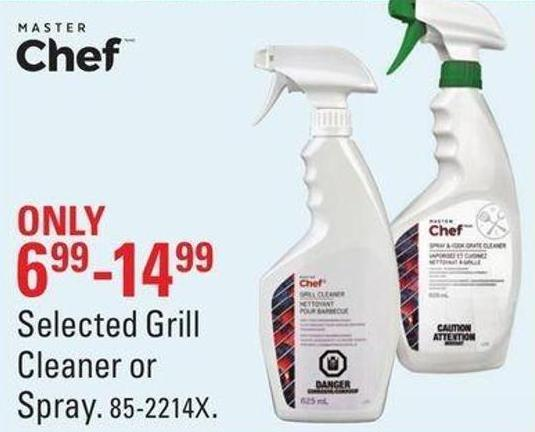 Selected Grill Cleaner or Spray