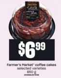Farmer's Market Coffee Cakes - 850 g