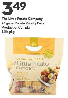 The Little Potato Company Organic Potato Variety Pack