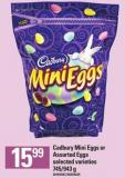 Cadbury Mini Eggs Or Assorted Eggs - 745/943 G