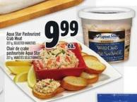 Aqua Star Pasteurized Crab Meat 227 g