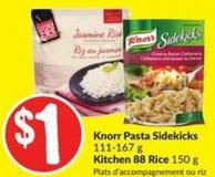 Knorr Pasta Sidekicks 111-167 g Kitchen 88 Rice 150 g