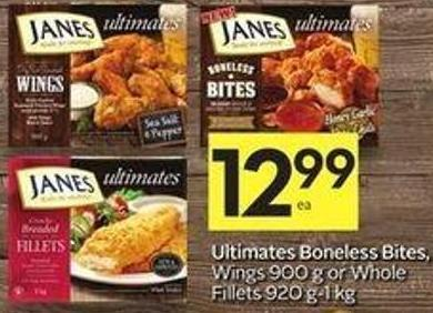 Ultimates Boneless Bites - Wings