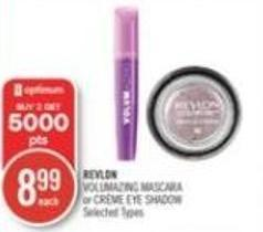 Revlon Volumazing Mascara or Crème Eye Shadow