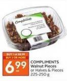Compliments Walnut Pieces