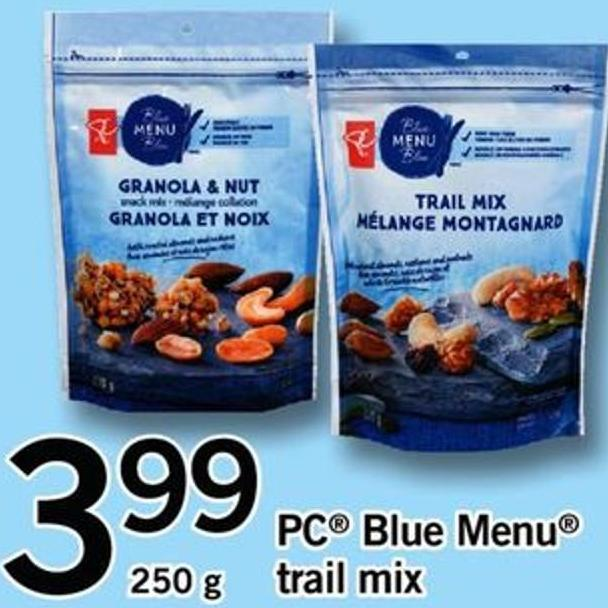PC Blue Menu Trail Mix