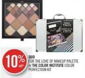 Quo For The Love Of Makeup Palette or The Color Institute Color Perfection Kit