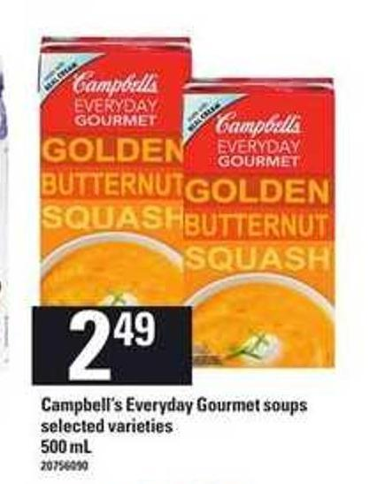 Campbell's Everyday Gourmet Soups - 500 Ml