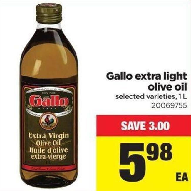 Gallo Extra Light Olive Oil - 1 L