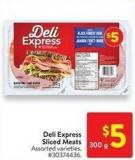 Deli Express Sliced Meats 300 g