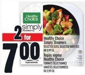 Healthy Choice Simply Steamers