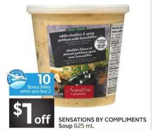 Sensations By Compliments Soup - 10 Air Miles Bonus Miles
