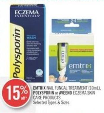 Emtrix Nail Fungal Treatment (10ml) - Polysporin or Aveeno Eczema Skin Care Products