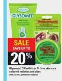 Glysomed - O'keeffe's Or St. Ives Skin Care