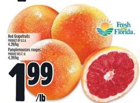 Red Grapefruits