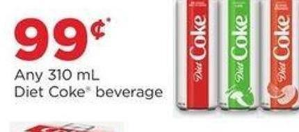 Diet Coke Beverage - Any 310 Ml