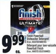Finish Powerball Dishwasher Detergent 26 Un. -