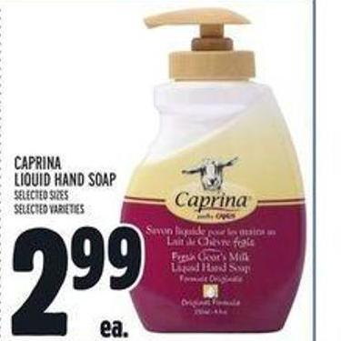 Caprina Liquid Hand Soap