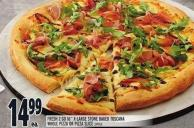 Fresh 2 Go 16in X-large Stone Baked Toscana Whole Pizza Or Pizza Slice