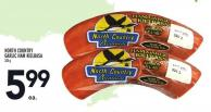 North Country Garlic Ham Kielbasa 325 g
